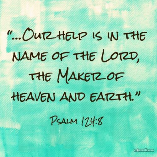 Psalm 124v8