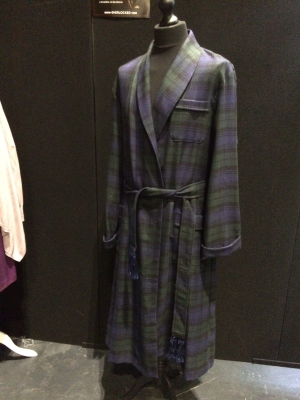 Sherlock's Dressing Gown from A Scandal in Belgravia