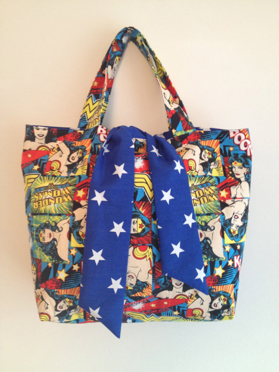 Superhero Handbag - Wonder Woman