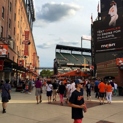 Oriole Park at Camden Yards, Maryland