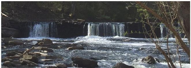 photo: Waterfall in creek