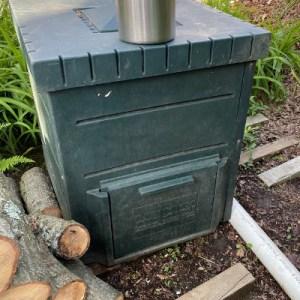 photo: large compost bin