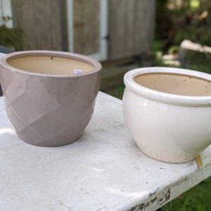 photo: glazed pots