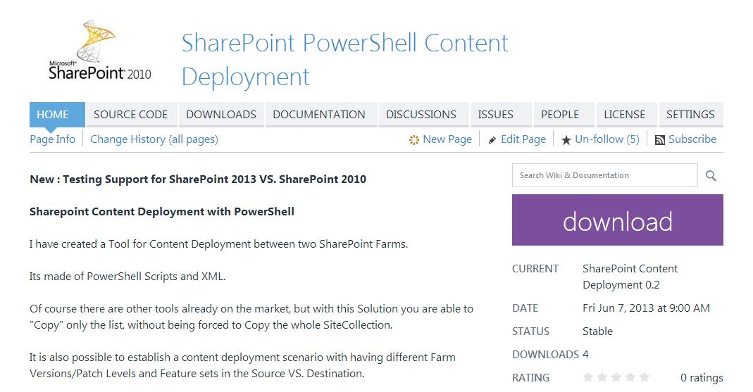 SharePoint Data Migration Toolkit 1.2