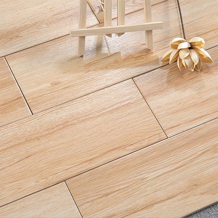 beige glazed ceramic wood tile