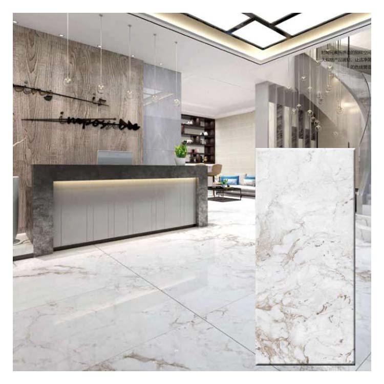 Light Grey Polished Ceramic Floor Tiles Size 900 X 1800mm Model M18139r Hanse Tiles Products