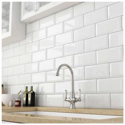 white glazed ceramic tile