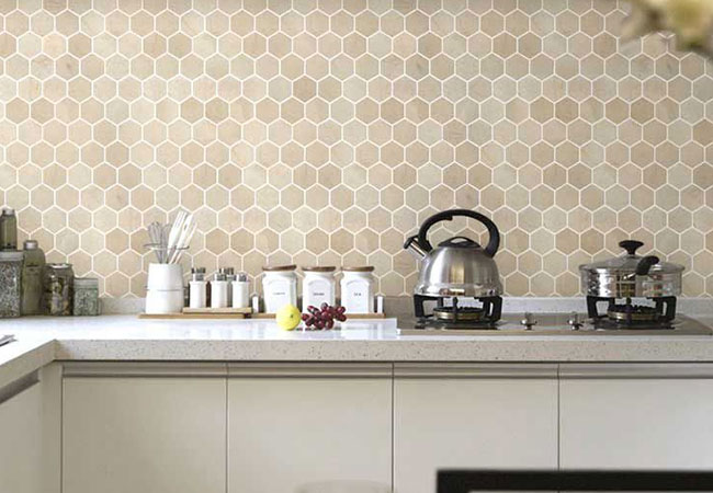 mosaic kitchen tile backsplash floor