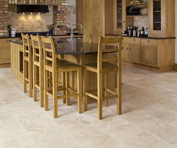 travertine look tile flooring best
