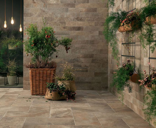 do you tile walls or floor first in