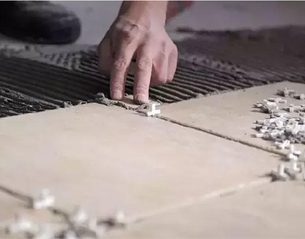 tile leveling system for floor wall tile