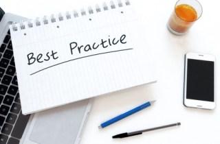 Catalog best practice