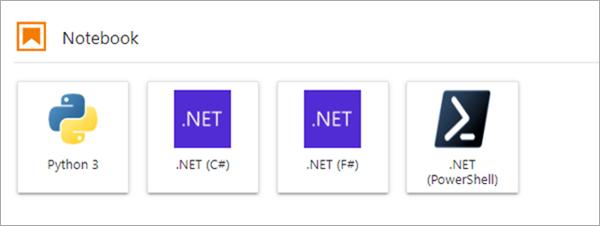.NET в ноутбуках Jupyter