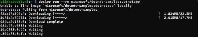 Docker on a Raspberry Pi