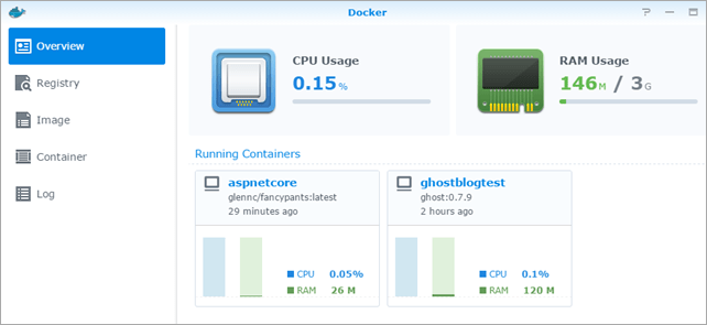 Docker on Synology is amazing