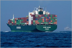 Container Ship by NOAA used under CC
