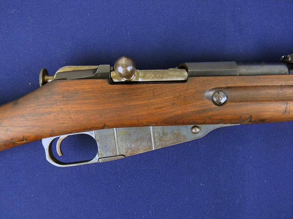 Remington Scarce U.S. Surcharged WWI Mosin Nagant For Sale at GunAuction.com - 13391721