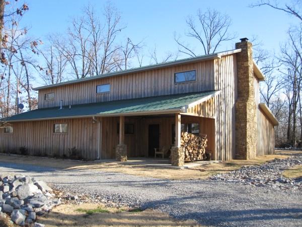 Building Pole Barn Homes Plans