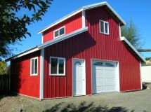 Pole Barn Barndominium Home