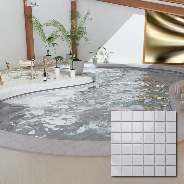 cheap white swimming pool ceramic