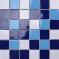 Glass Mosaic Swimming Pool Tiles - Tile Design Ideas