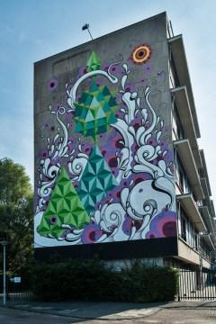 Artist: Highraff – Schipluidenlaan 12.