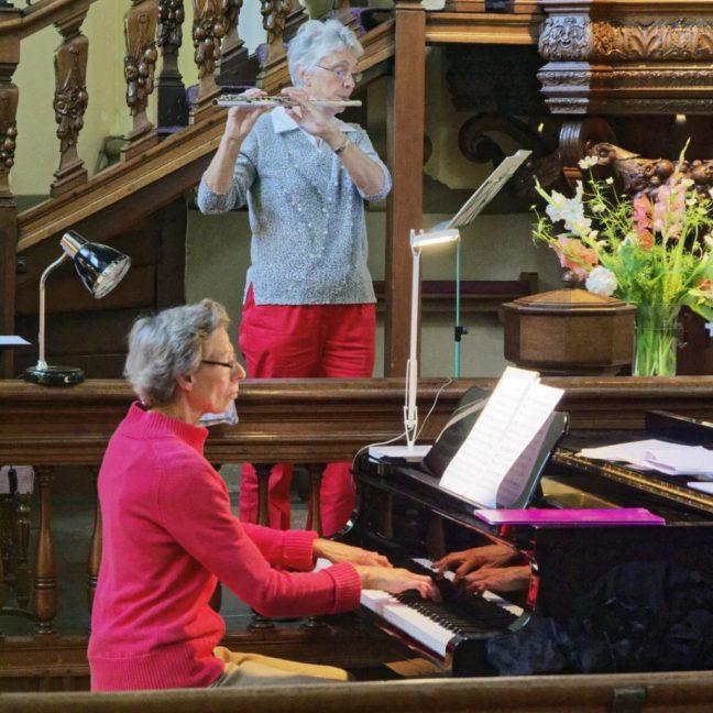 fluit en piano