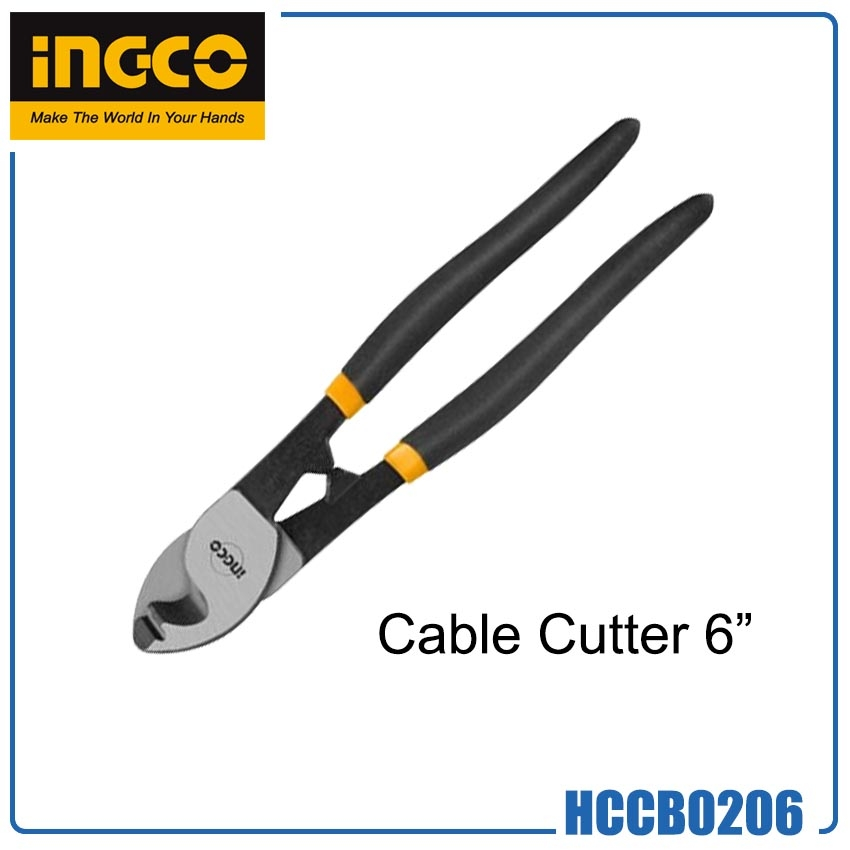"""Ingco HCCB0206 Cable Cutter 6""""   HANS INFINITE TOOLS"""