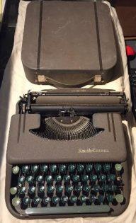 Helen (Hawkinson) Hanson's typewriter
