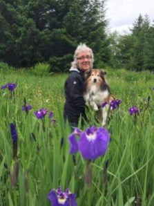 Kate Troll and Nellie with Wild Flag (Iris)
