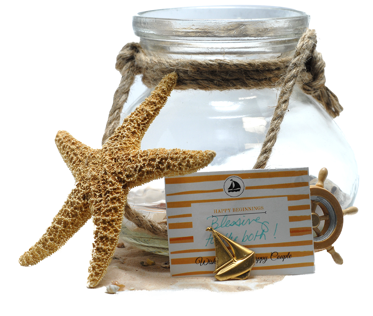 Nautical Personalized Tags Soap