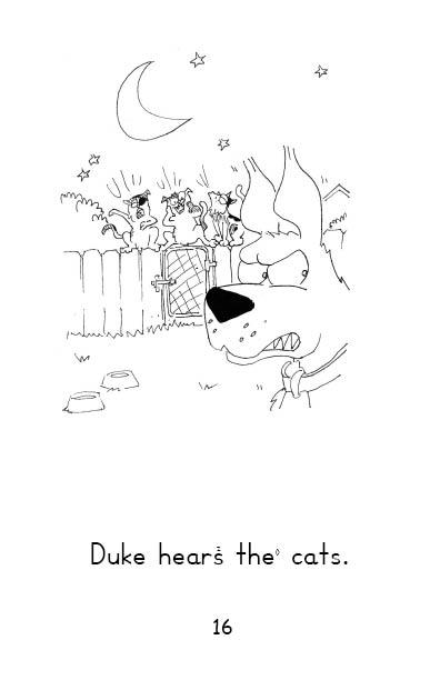 Chart 2 Set C Book 6 Duke and the Cats (Long & Short