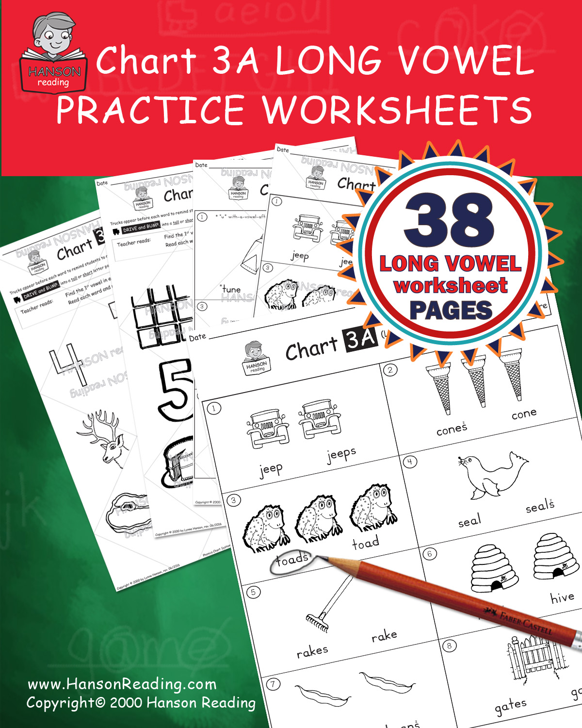 Chart 3a Practice Worksheets Word Comprehension 38 Page Pack