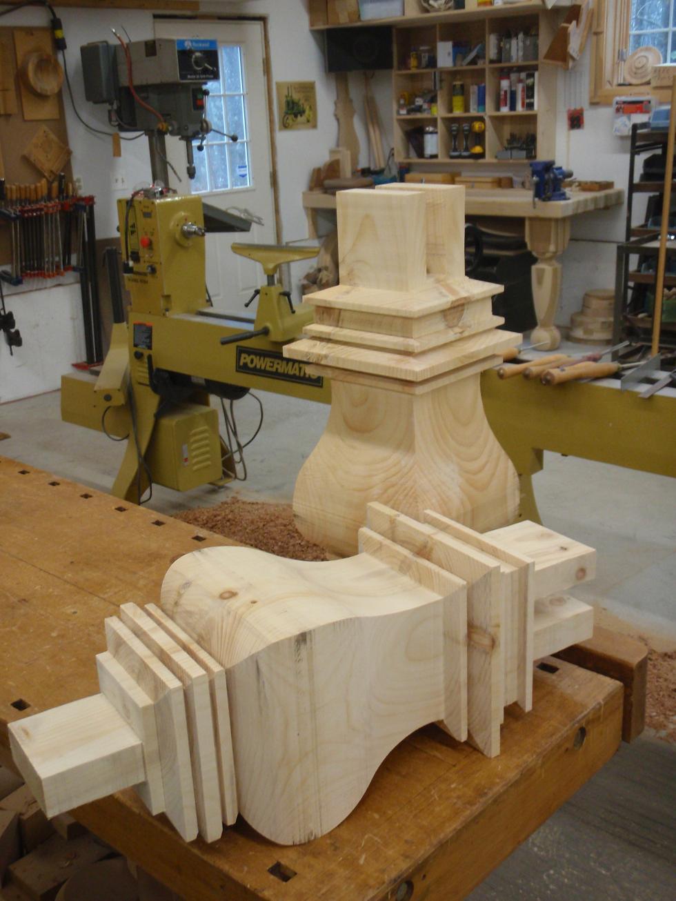 square pedestal kitchen table led light hanson woodturning