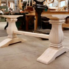 Kitchen Table Legs Ceiling Fans With Bright Lights Hanson Woodturning Square Turnings Islands Pedestal Bases