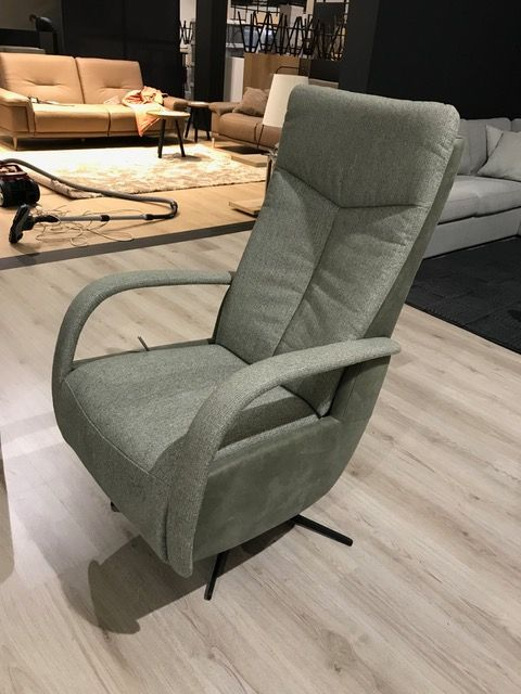 Relaxfauteuil Bentley  Hans Schepers Stoffering