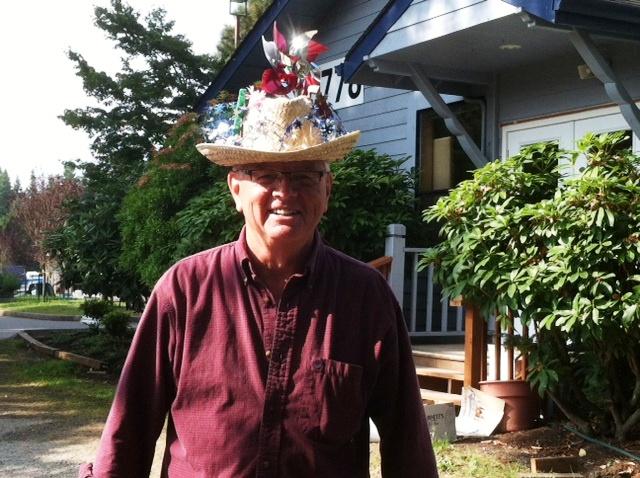 rummage sale hat