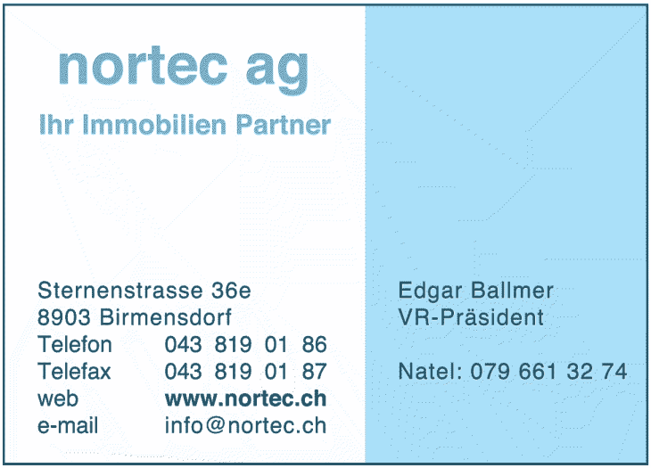 norteg ag - Ihr Immobilien Partner
