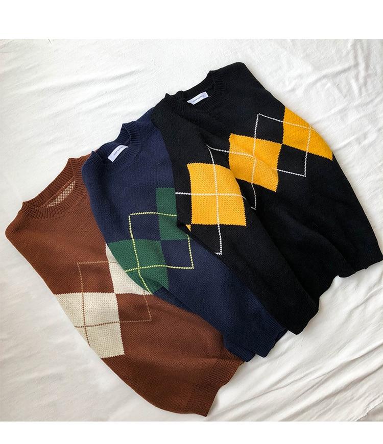 Women's Preppy Style Sweater