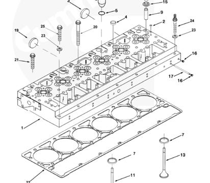 ISM11/QSM11 Series Cummins Parts  Cummins Engine
