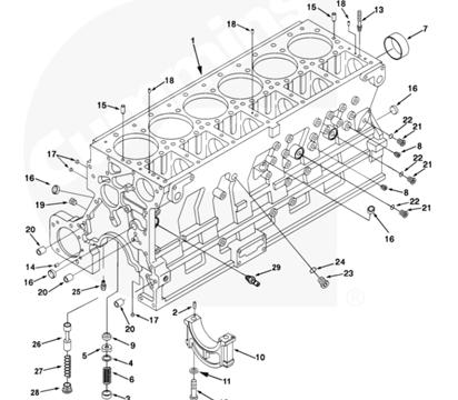 ISM11/QSM11 Series Cummins Parts| Cummins Engine