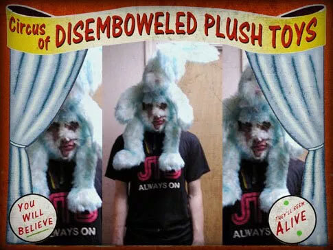 Bunnyhead (Circus of Disemboweled Plush Toys)