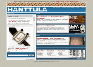 Hanttula.com (2008)