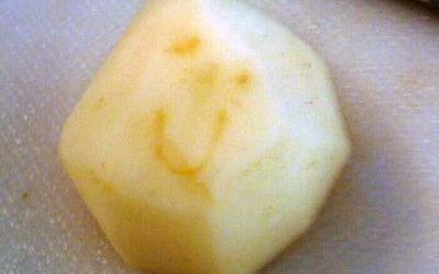 Subtly Smiley Potato