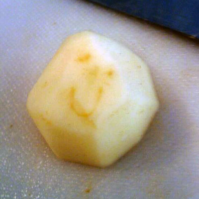 Subtly Smiley Potato