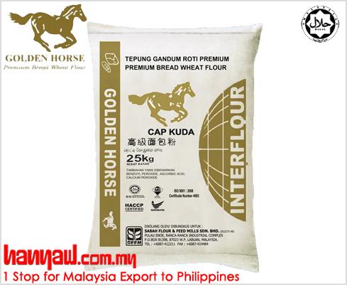 Golden Horse Bread Wheat Flour  Hanyaw Malaysia