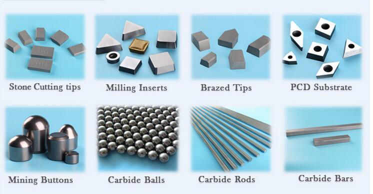 Grade of Tungsten Carbide - Exhibition - Baoji Hanz Metal Material Co.. Ltd.