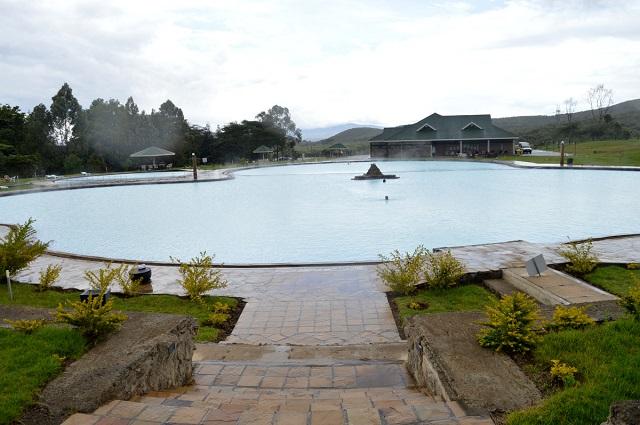 Ol Karia Geothermal Spa main pool