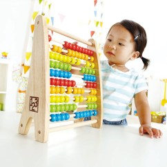 Hape Kitchen Cabinets Made In Usa Rainbow Bead Abacus | E0412 Toys