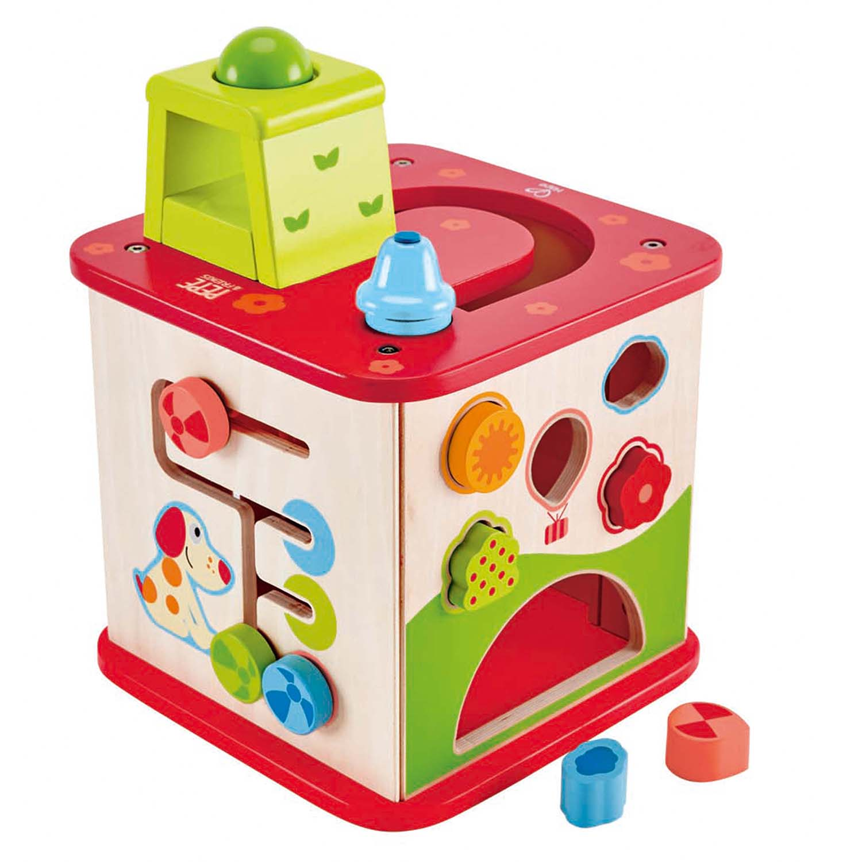 hape play kitchen kohler sinks home depot friendship activity cube   e1812 toys